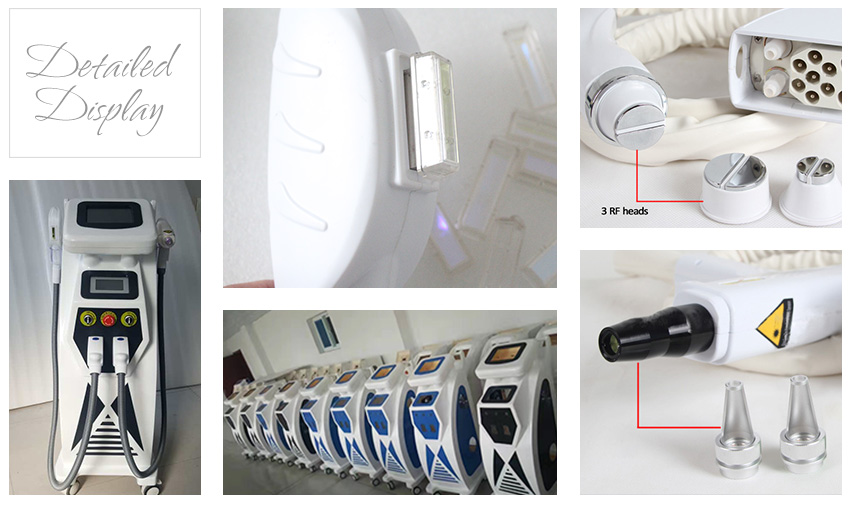 elight hair removal machine in factory