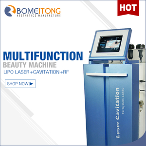 Ultrasonic Cavitation Machine with Vacuum Rf Lipo Laser LS650