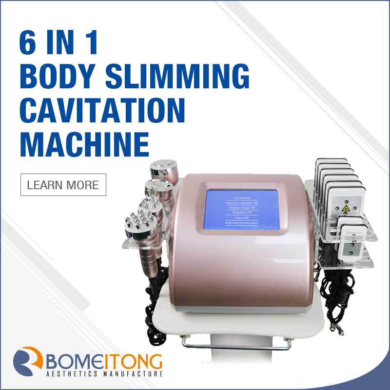Weight Loss Skin Tightening Rf Cavitation Machine
