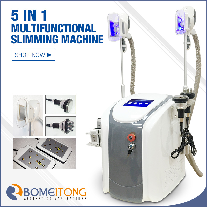 Inner leg fat removal cryolipolysis machine lipo laser cavitation