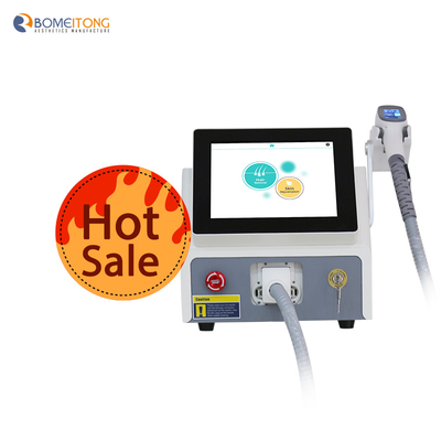 Laser hair removal back cost machine 2 handles 3 wavelength