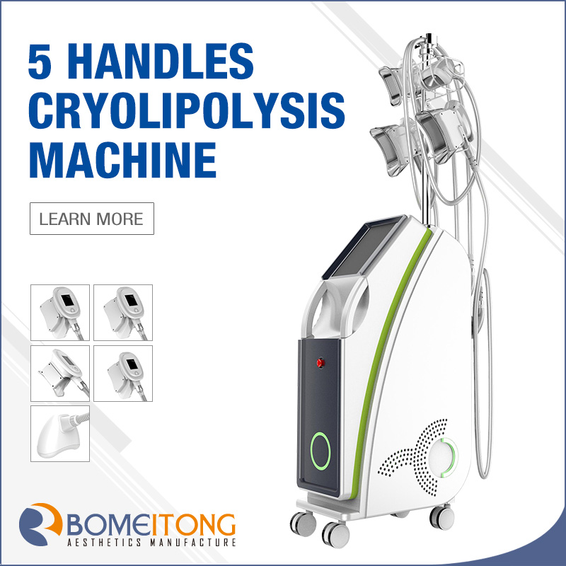 Arm fat reduce equipment cryolipolysis weight loss cellulite reduction
