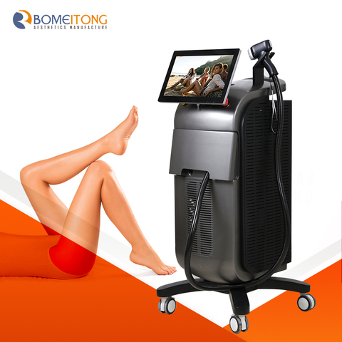 Permanent diode Laser Hair Removal machine alma laser soprano ice Titanium Micro Channel 3 Wavelength 755 808 1064nm BM103