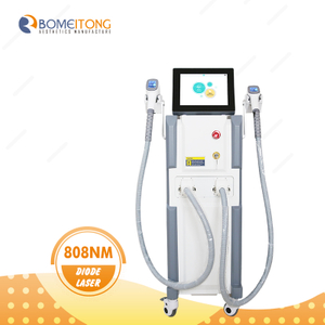 High Power 2 Handles Permanent Laser Hair Removal Machine