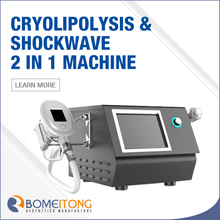 Cool Wave 2 in 1 Cryolipolysis And Shock Wave Machine for Sale SW20