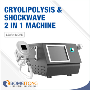 Cool Wave 2 in 1 Cryolipolysis And Shock Wave Machine for Sale SW2