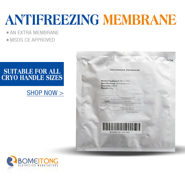 Cryolipolysis Antifreeze Membrane for Sale with 3 Size