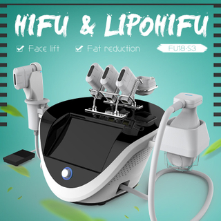 2 in 1 hifu body contouring machine portable
