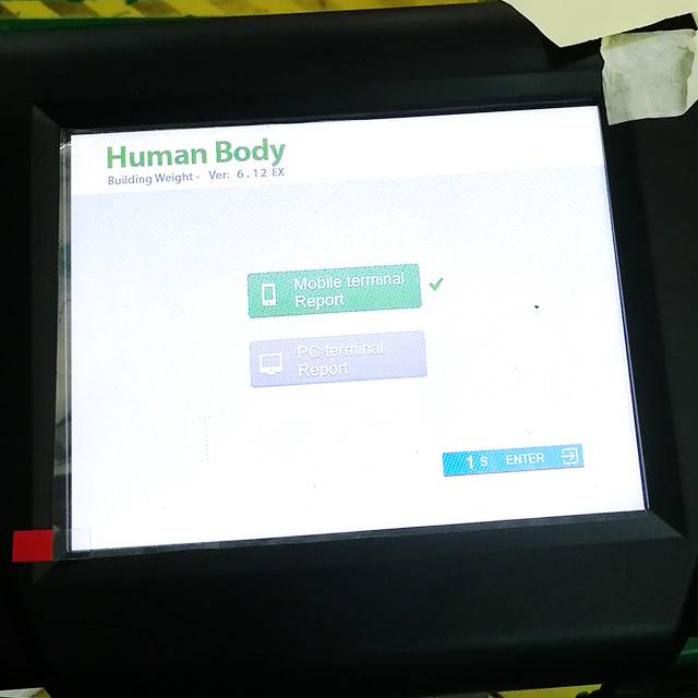 Commercial Body Composition Analyser with Printer