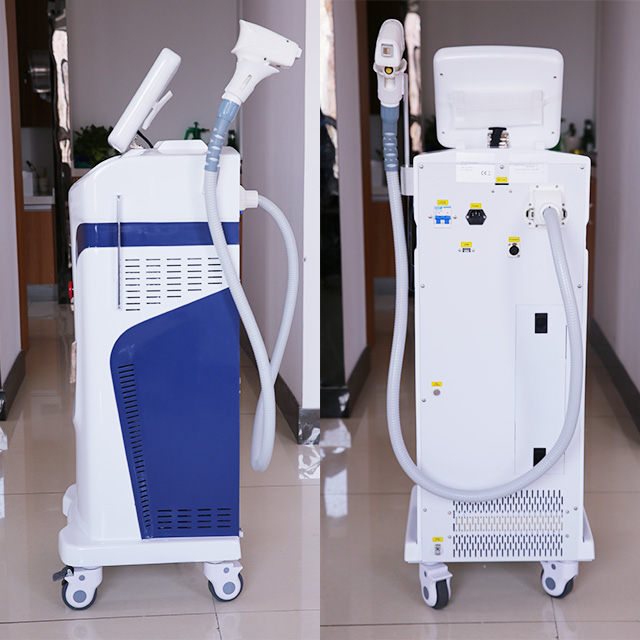 Permanent Hair Removal by Laser Machine