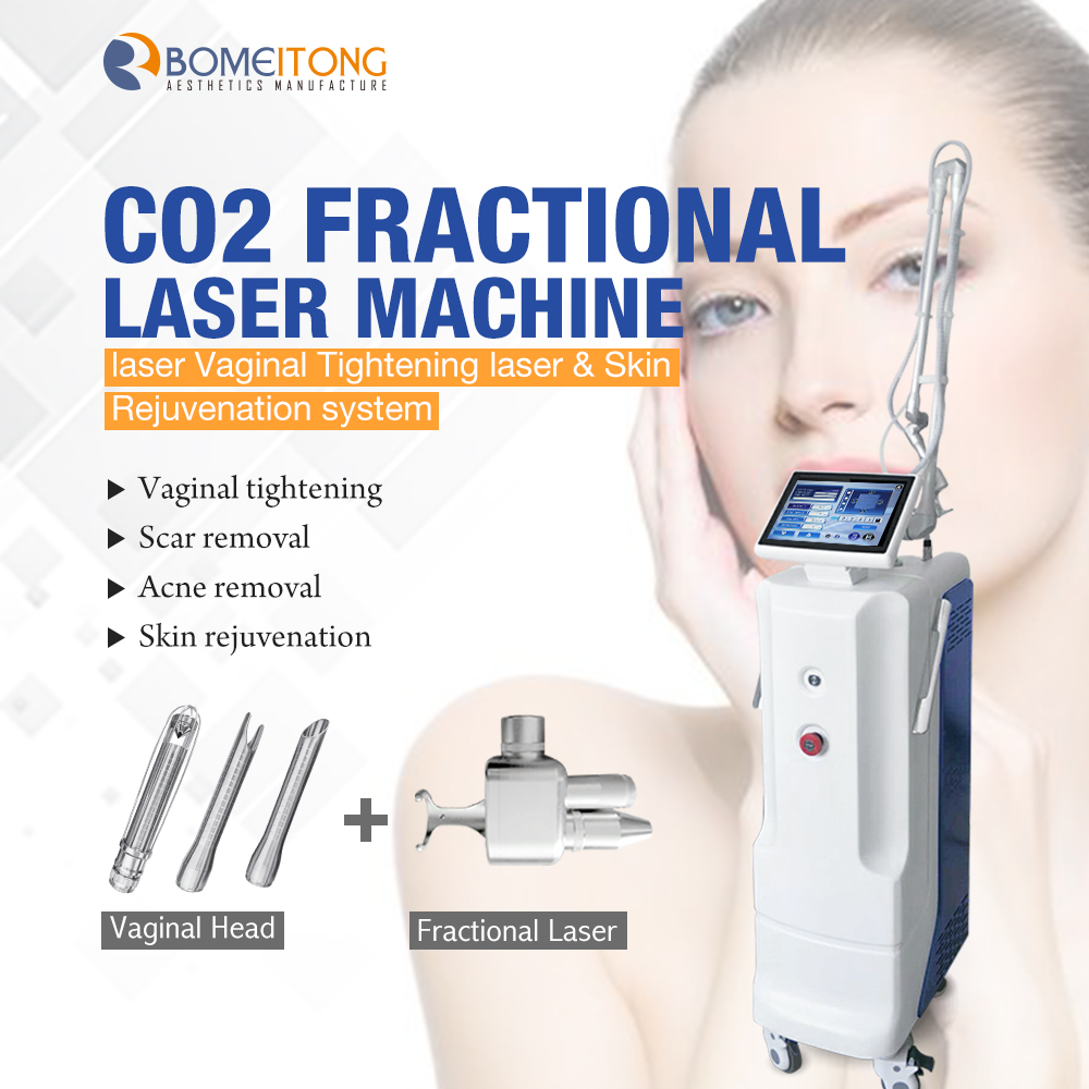 Fractional Co2 Laser Machine for Skin Resurfacing Acne Scars