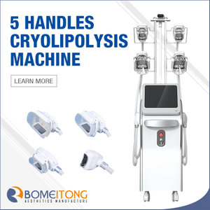 New 5 Handles Cryolipolysis Fat Freezing Machine Body Slimming ETG60S