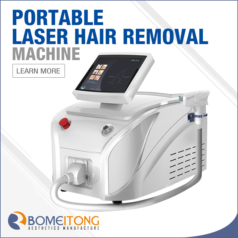 Diode Laser Medical Hair Removal Equipment 808nm 1200w