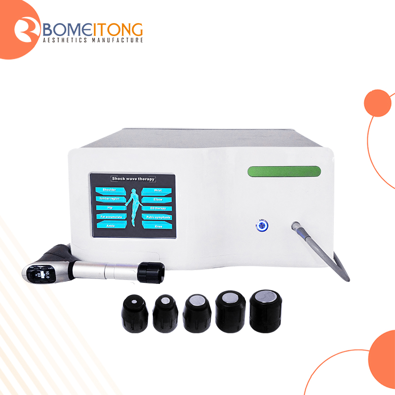 extracorporeal shock wave therapy unit for pain and slimming